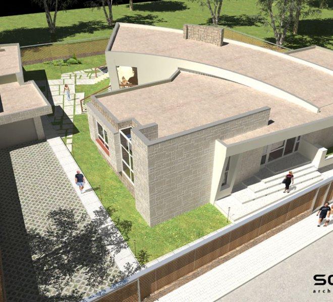 Солидко Архитекти еднофамилна къща в с. Габарево 1