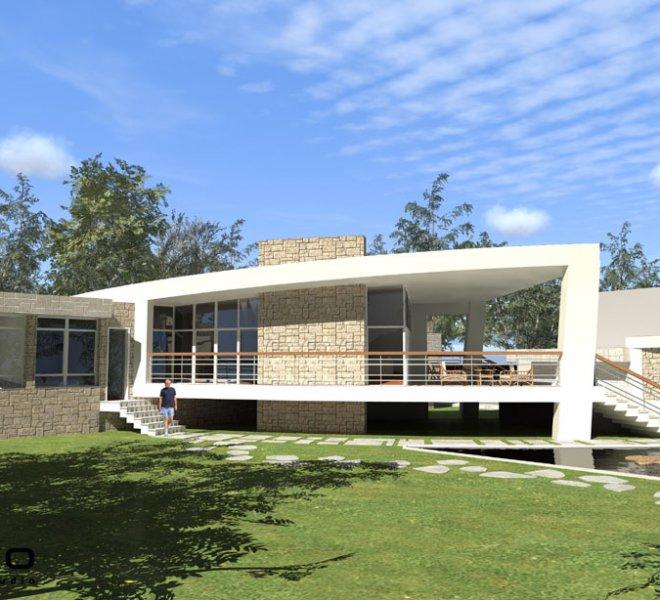 Солидко Архитекти еднофамилна къща в с. Габарево 2