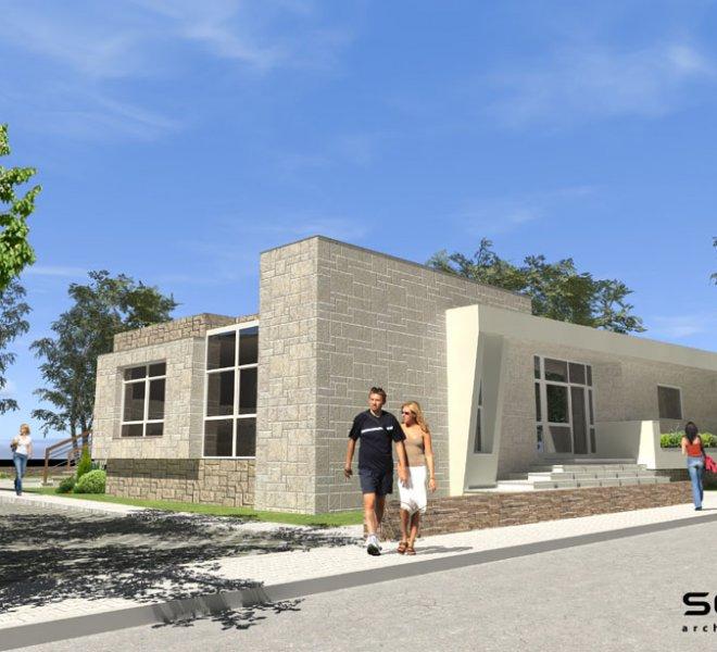 Солидко Архитекти еднофамилна къща в с. Габарево 3