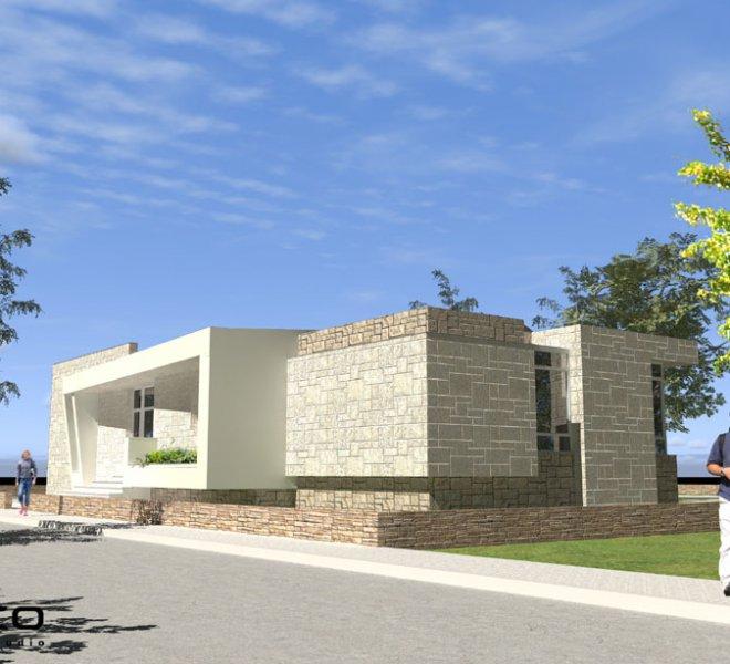 Солидко Архитекти еднофамилна къща в с. Габарево 4