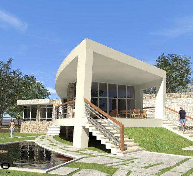 Солидко Архитекти еднофамилна къща в с. Габарево 5