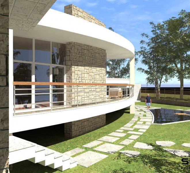 Солидко Архитекти еднофамилна къща в с. Габарево 7